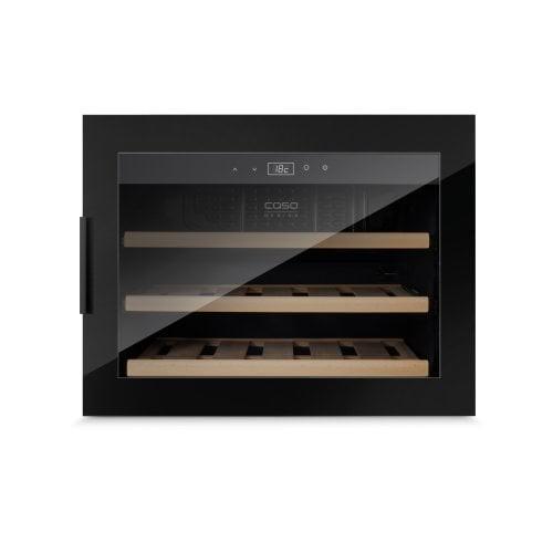 Tủ rượu âm tủ CASO WineSafe 18 EB Black