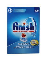 Viên rửa bát tổng hợp FINISH 100 viên hương chanh CLS0006