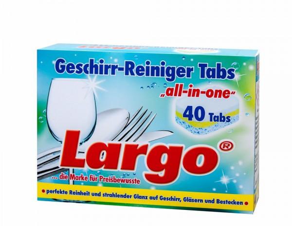 Hộp viên rửa tổng hợp Lagor 40 viên LAGOR40