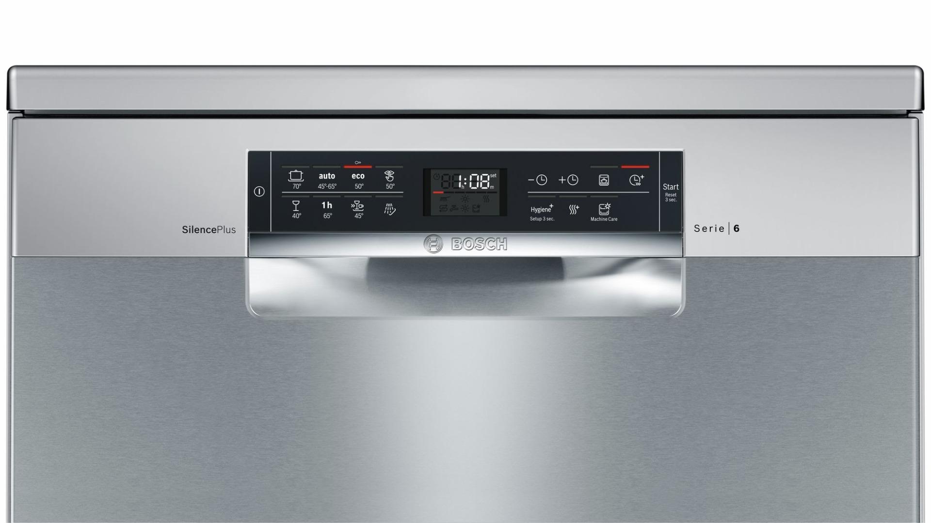 bảng điều khiển Máy rửa bát độc lập BOSCH SMS68II07E