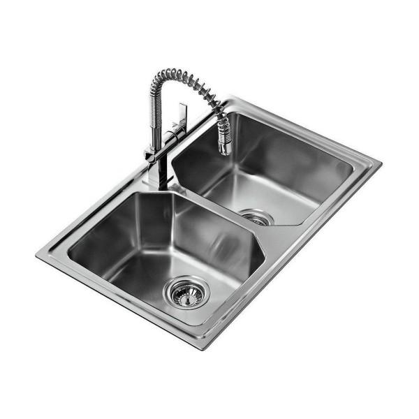 Chậu rửa bát dương bàn bếp TEKA Premium 2B