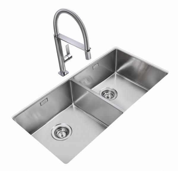 Chậu rửa bát âm bàn bếp TEKA BE LINEA R15 2B 860