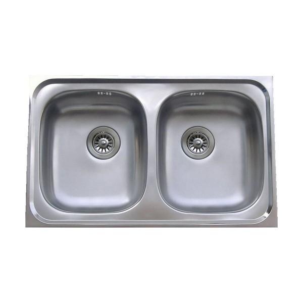 Chậu rửa bát dương bàn bếp FAGOR OKP-2B