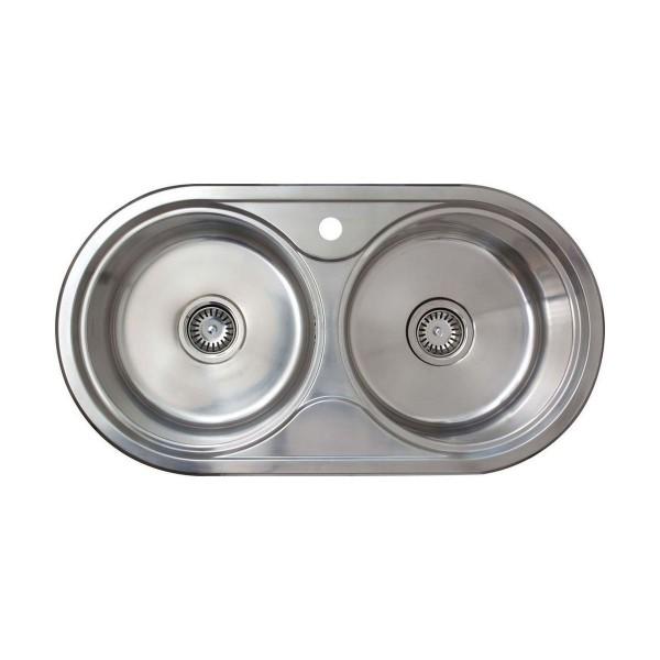 Chậu rửa bát âm bàn bếp CATA R-2 AG