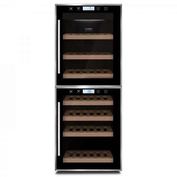 Tủ rượu độc lập CASO WineComfort Touch 38-2D