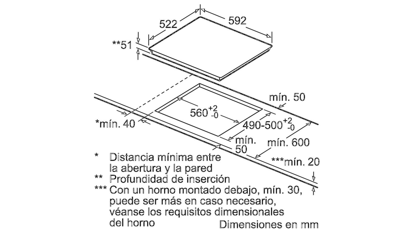 Bếp từ BOSCH PUC631BB2E 3 vòng bếp, xuất xứ Tây Ban Nha |osm.com.vn | Thiết  bị bếp và gia dụng OSM