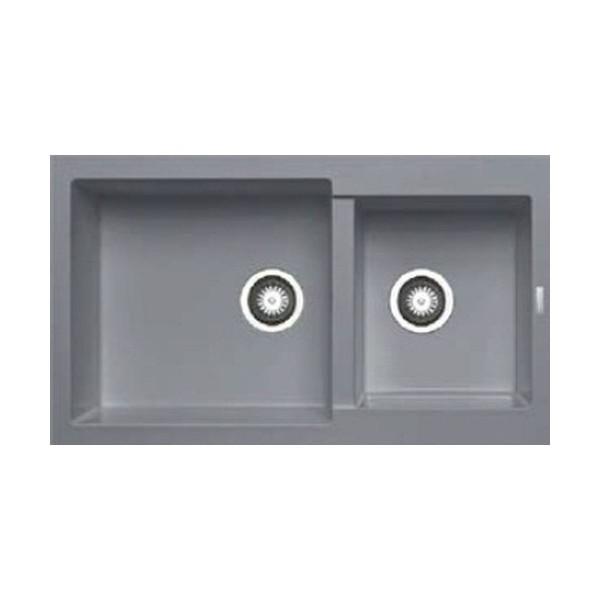 Chậu rửa bát dương bàn bếp Màu xám HAFELE HS-G8650-Iron Grey 565.88.501