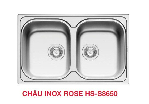 Chậu rửa bát dương bàn bếp HAFELE ROSE HS-S8650 565.86.271