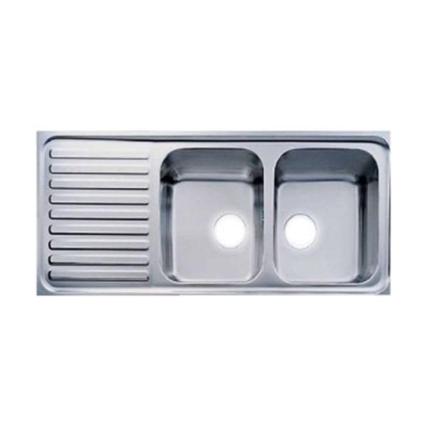 Chậu rửa bát dương bàn bếp FAGOR OKP-2B-1D