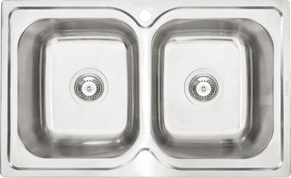 Chậu rửa dương bàn bếp Hafele Torino HS-S7848 - 567.23.010