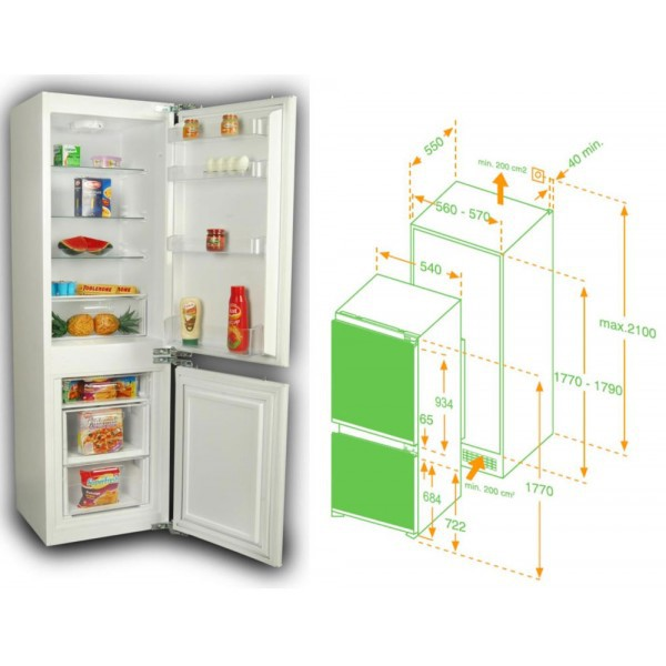 Tủ lạnh âm tủ HAFELE HF-BI60A 533.13.020