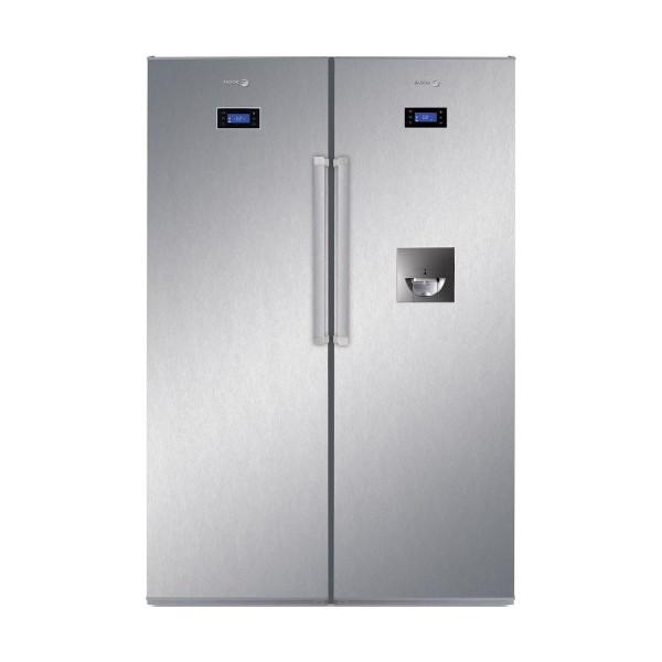 Tủ lạnh side by side FAGOR ZFK1745X + FFK1674XW