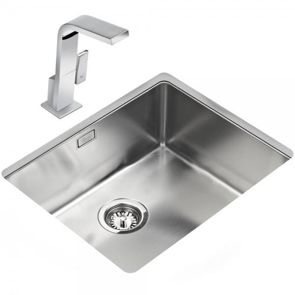 Chậu rửa bát âm bàn bếp TEKA BE LINEA R15 50.40