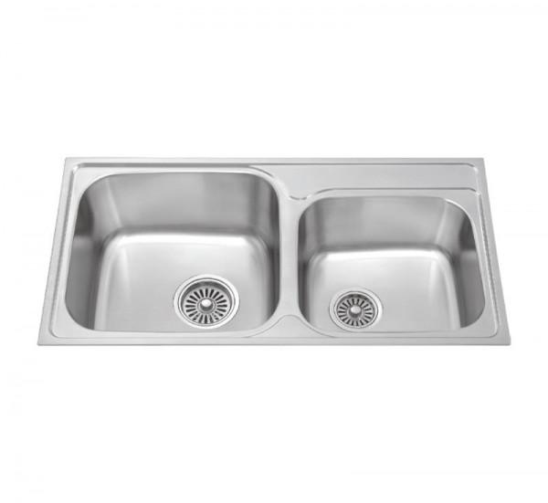 Chậu rửa bát dương bàn bếp MALLOCA MS 1011 NEW