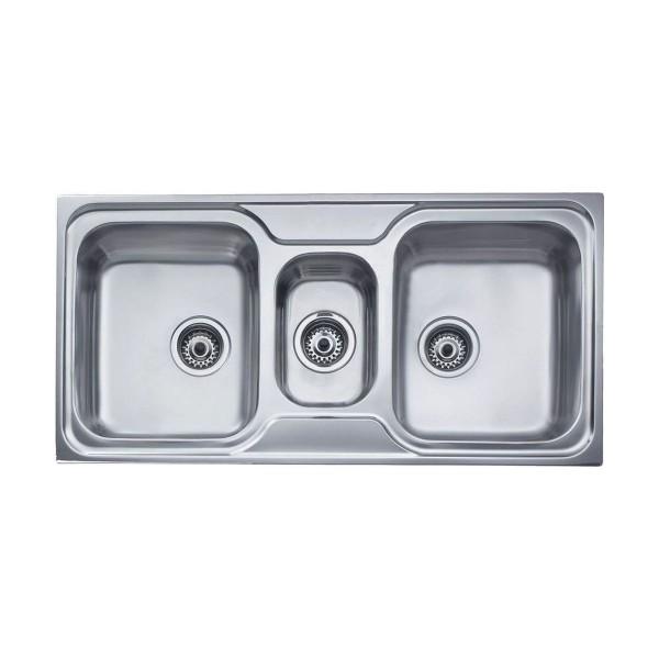 Chậu rửa bát dương bàn bếp TEKA Classic 21/2B