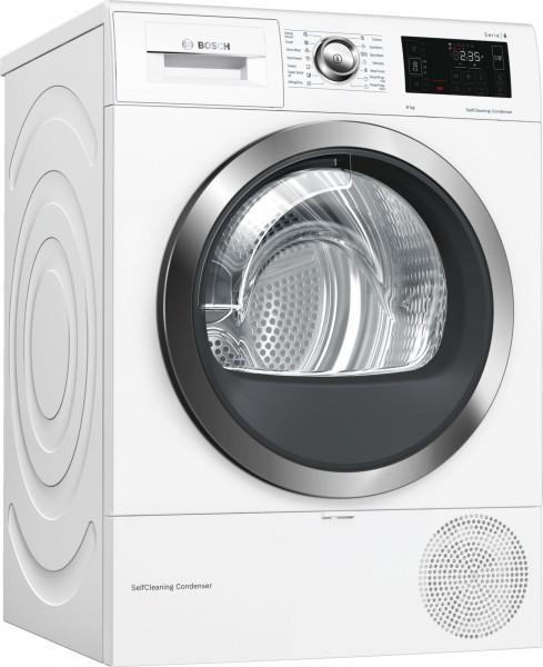 Máy sấy quần áo BOSCH WTW876H8SG|Serie 6