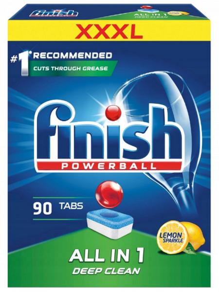 Finish Hương chanh 3 trong 1 (90 viên/Hộp)