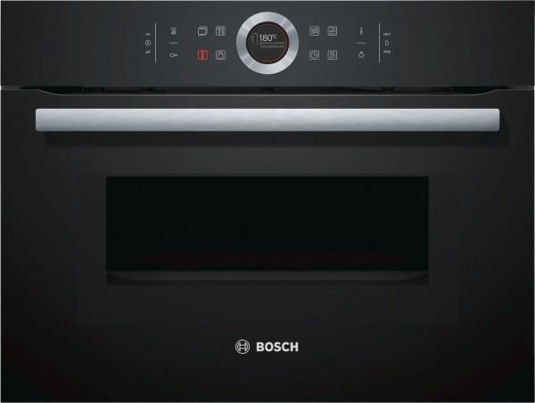 Lò nướng kết hợp vi sóng BOSCH CMG633BB1|Serie 8