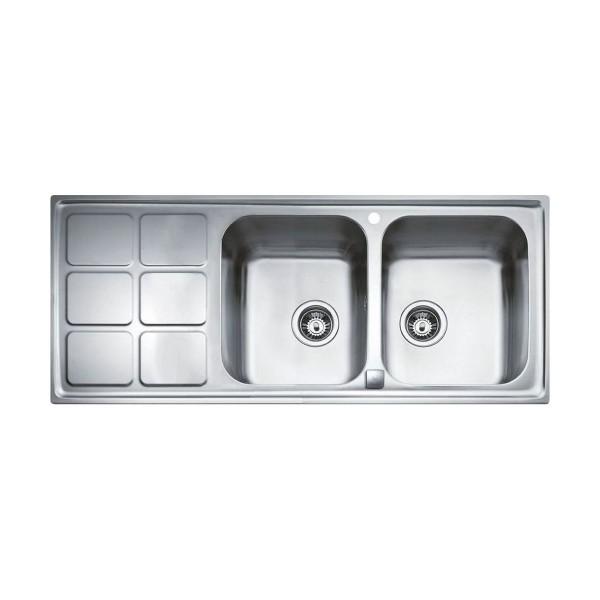 Chậu rửa bát dương bàn bếp TEKA Cuadro 2B 1D