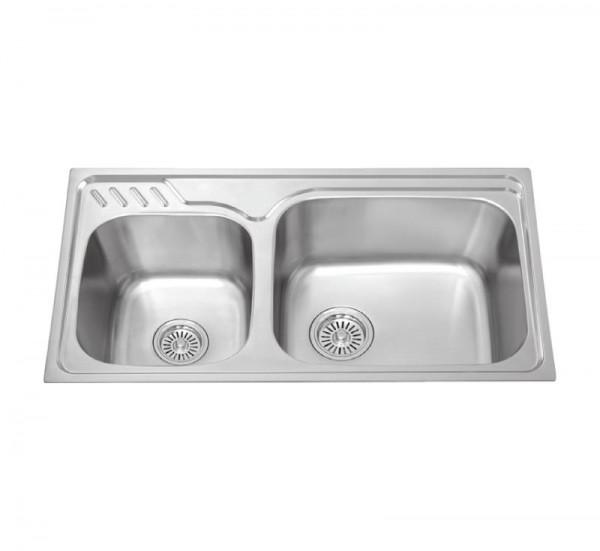 Chậu rửa bát dương bàn bếp MALLOCA MS 1003 NEW