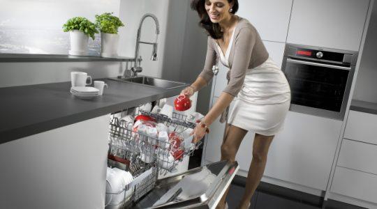 Sự khác biệt giữa máy rửa bát âm tủ và máy rửa bát độc lập