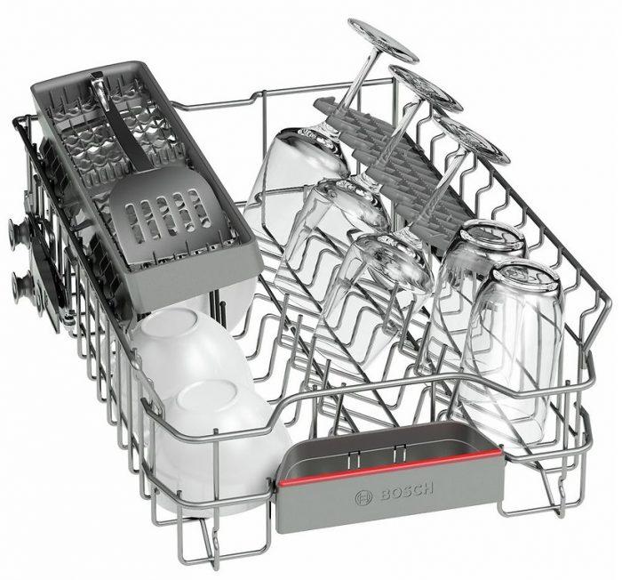 Bộ trao đổi nhiệt trong máy rửa bát Bosch đảm bảo an toàn tối đa cho ly thủy tinh