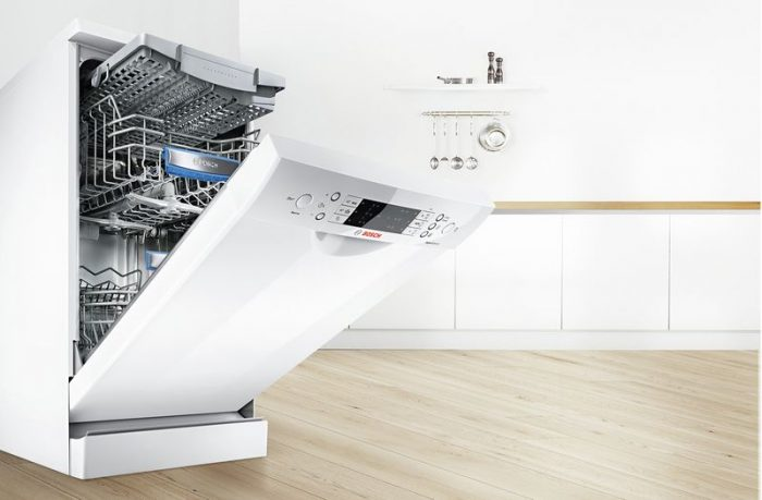 Các khu vực còn lại của máy rửa chén Bosch